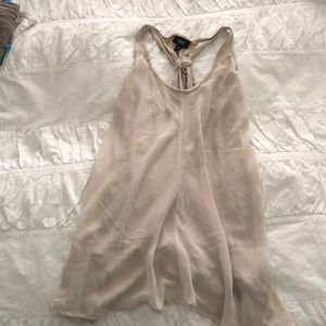 Mossimo beige tank top size XS